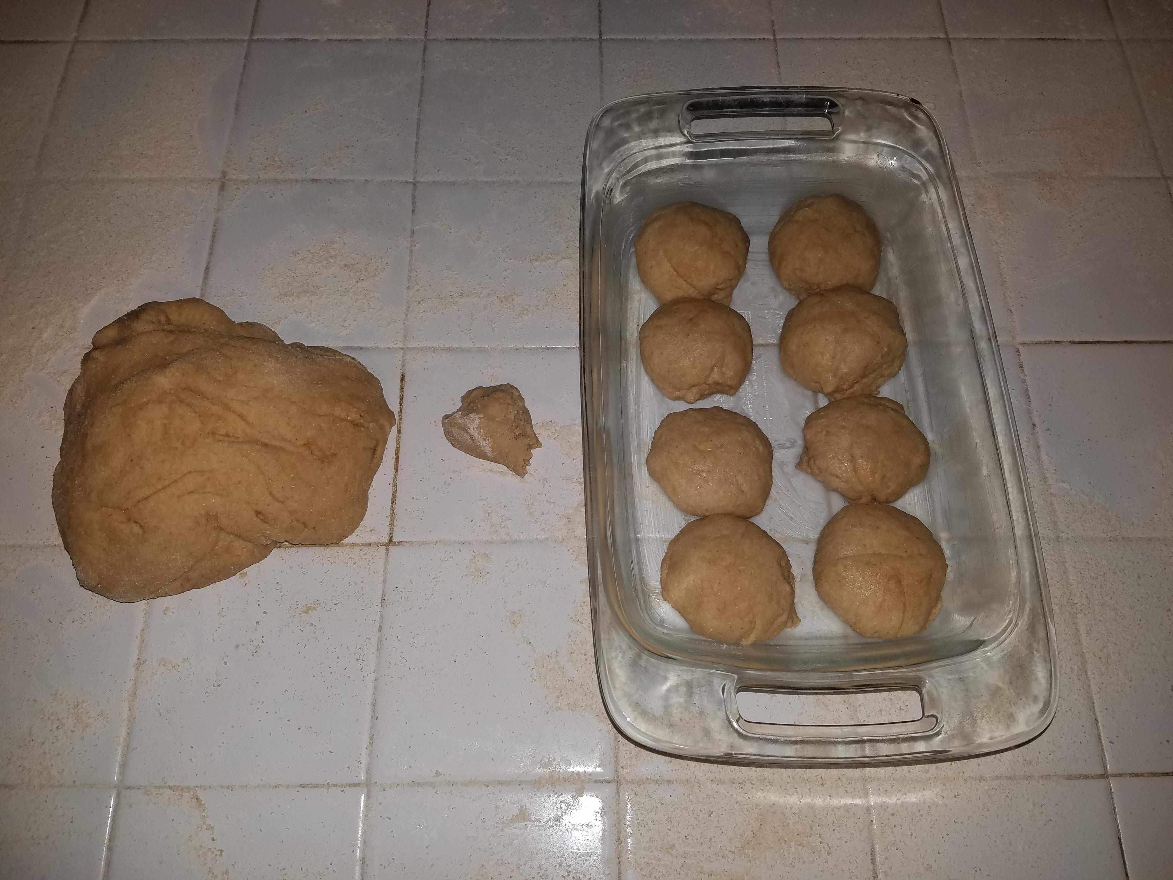 EASIEST homemade rolls/cinnamon rolls! – Marks of Motherhood